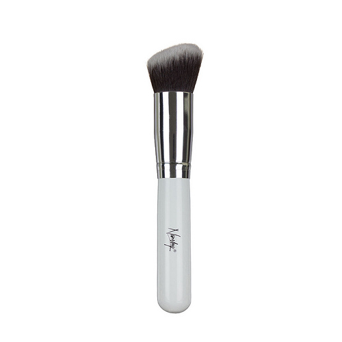 Nanshy rounded angle brush. Great for contouring and blushes and bronzers RRP £9.95
